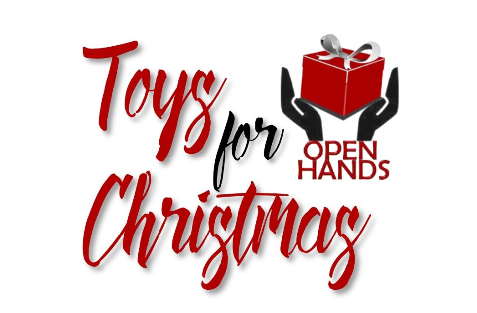 Open Hands Toys for Christmas